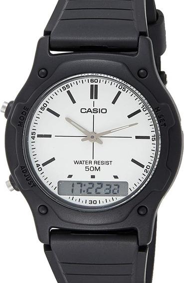 Relógio Casio Masculino Stadard Aw-49h-7evdf