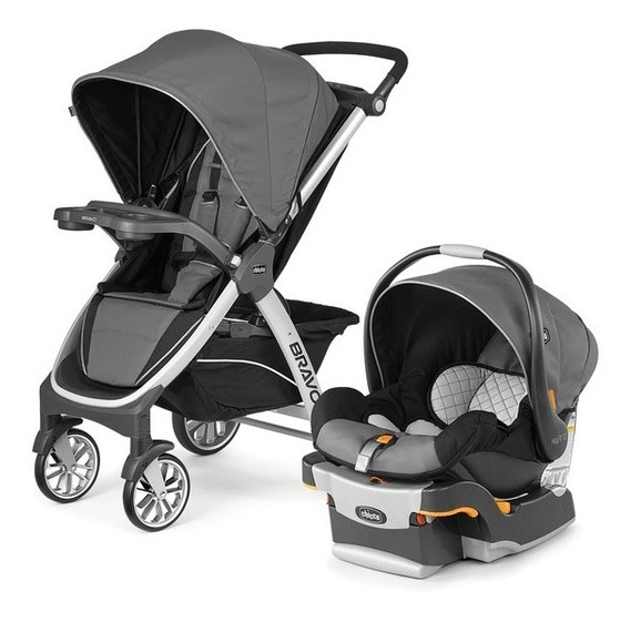 Coche Bravo Duo Travel System Chicco + Huevito C/base