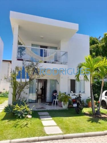 Imagem 1 de 13 de Lindíssima Casa À Venda Com 4 Dormitórios, 160 M²  - Lauro De Freitas/ba - Ca00505