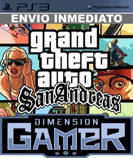 Grand Theft Auto San Andreas Ps3 Store
