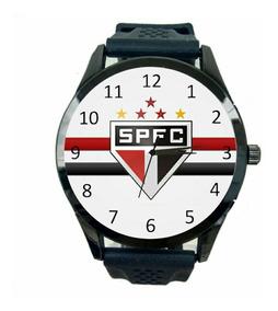Relógio São Paulo Masculino Futebol Esporte Tricolor Fc T181