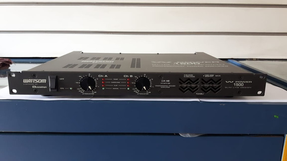 Amplificador De Potência Ciclotron Wp1500 - 375w