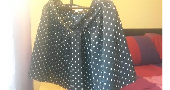 Falda Skirt Lunares Marca Juli Santini. Original