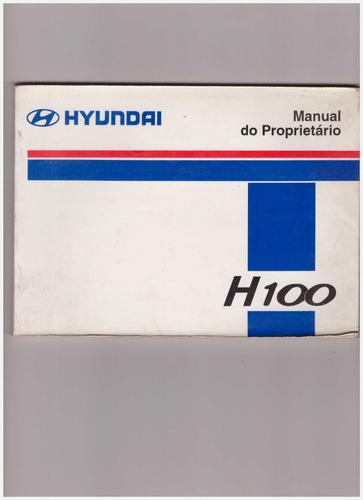Manual Do Proprietário Da Hyundai H 100