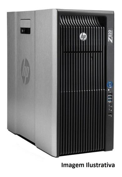 Workstation Hp Z820 Intel Xeon E5-2665 32gb 240gb Ssd + 2tb