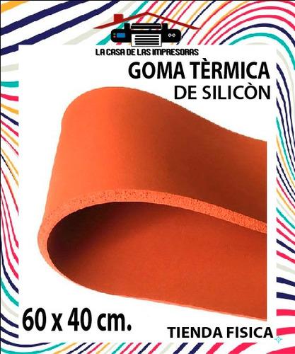 Goma Termica De Silicon 60 X 40