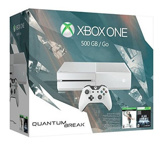 Xbox One 500 Gb Consola Blanca Edicion Especial Quantum Brea
