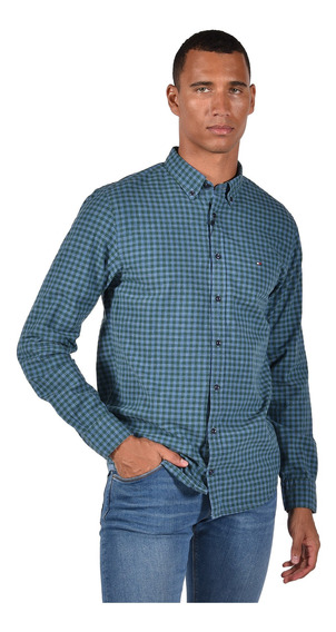 Camisa New York Fit Tommy Hilfiger Mw0mw03087904 Hombre