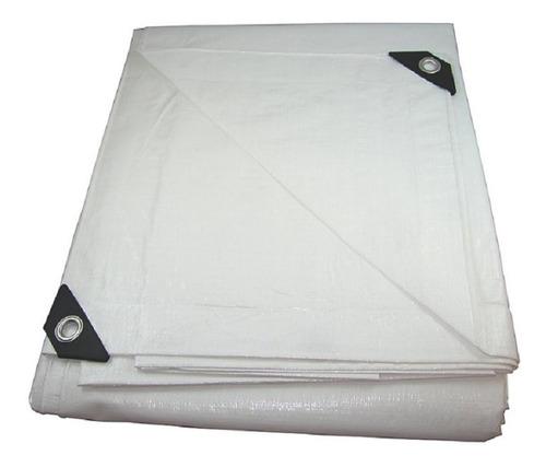Lona Plástica 12 X 8 Branca Cobertura Sol Chuva Festa Evento