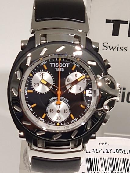 Relógio Tissot T-race Chronograph T011.417.17.051.00 Novo.