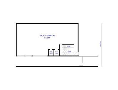 Salao Comercial No Centro - Loc765502