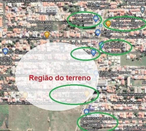 Imagem 1 de 1 de Terreno A Venda No Bairro Ingleses Do Rio Vermelho Em - 3924-1