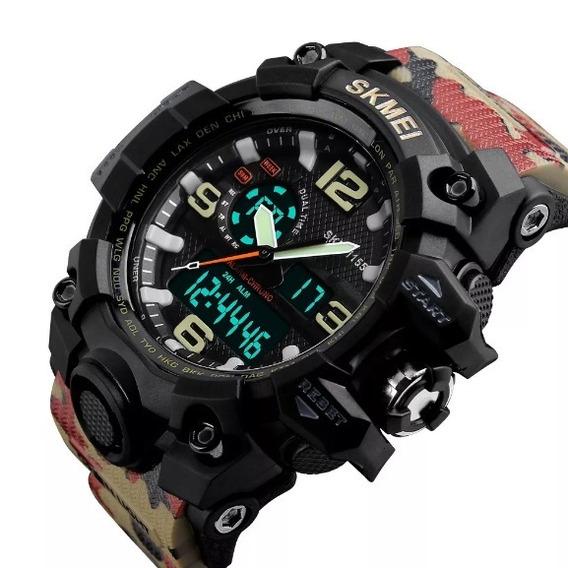 Relógio Masculino Skmei 1155 Militar A Prova D