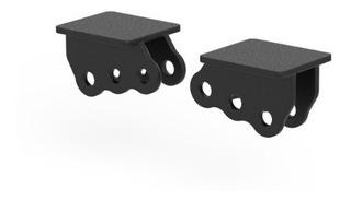 Soporte Amortiguador Sujecion Lateral 3 Puntos Raw Parts X 2
