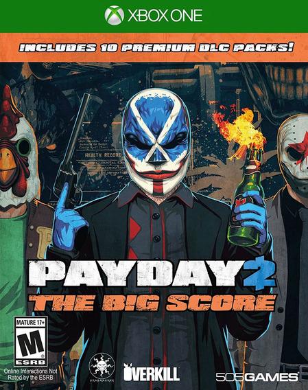 Payday 2: The Big Score Dlc Packs - Xbox One - Lacrado - Nf