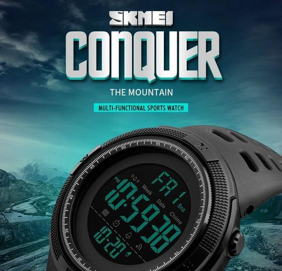 Relógio Digital Militar Skmei Conquer Frete Grátis