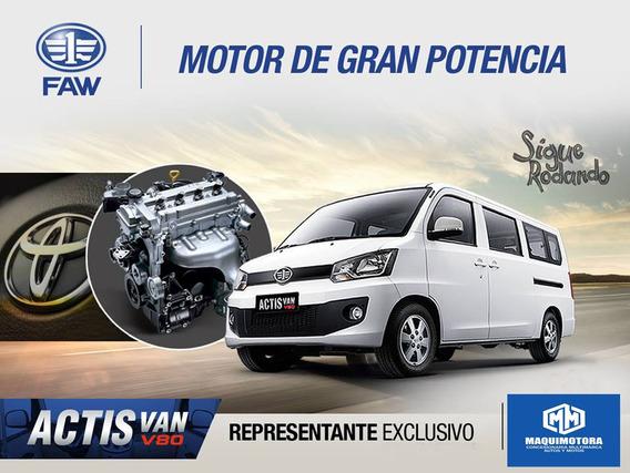 Faw V80 11 Asientos Full Equipo Fab.2019 Motor 1500cc.toyota