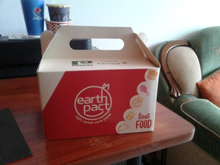 Cajas Para Alimentos Con Cartulina Biodegradable
