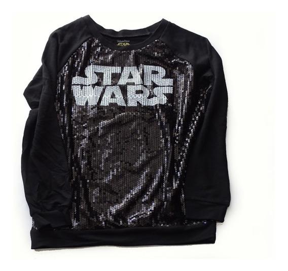 Buzo Star Wars C/lentejuelas Original Disney Store + Regalo