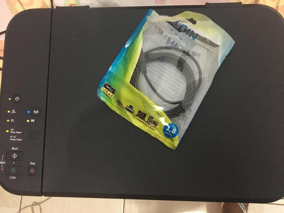 Impressora Multifuncional Canon Mg3510 Black Wifi