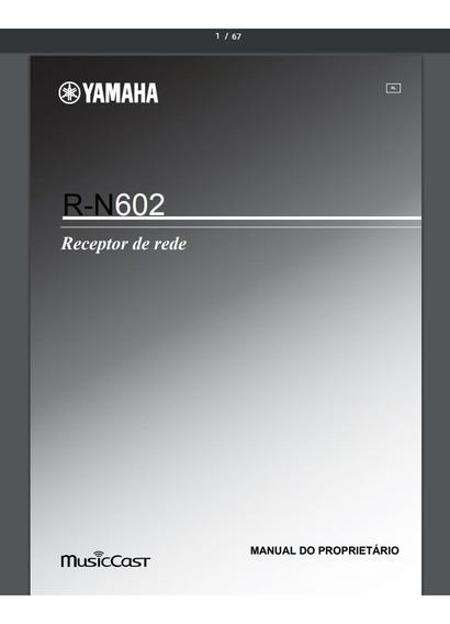 Manual Do Receiver Yamaha R-n602 Em Português