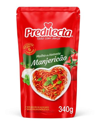 Molho Manjericão 340g Predilecta