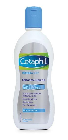 Sabonete Líquido Cetaphil Pro Ad Restoraderm 295ml