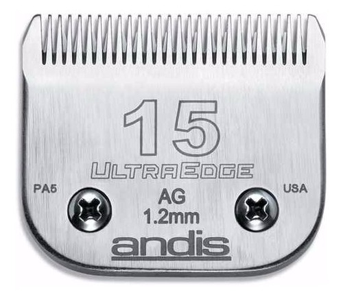 Cuchilla Andis 15 1,2mm Peladora Oster Oveja Negra Moser Gts