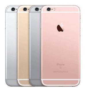 Carcaça iPhone 6s Traseira Laterais Aro + Botões + Brinde