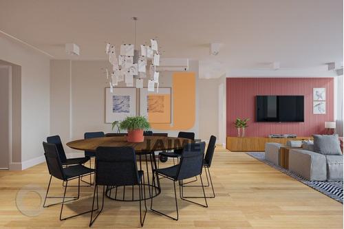 Apartamento À Venda Em Jardim Paulista, Com 2 Quartos, 130 M² - Ja16466