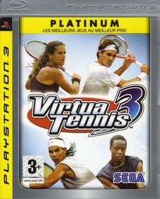 Jogo Virtua Tennis 3 Playstation 3 Ps3 Mídia Física Tenis