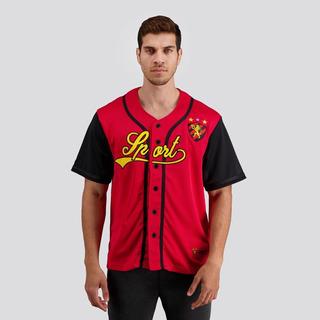 Camisa Baseball Sport Vermelha