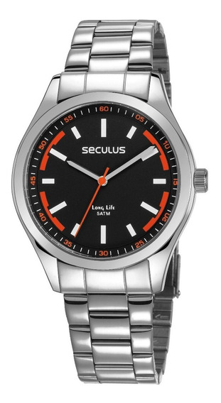 Relógio Seculus Masculino 28979gosvna2