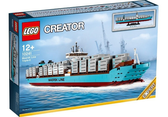 Lego Creator Set 10241 - Maersk Line Triple-e