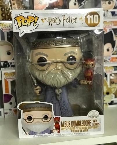 Funko Pop Harry Potter # 110 Albus Dumbledore 30cm Exclusivo