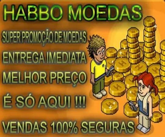 Moedas Habbo 3k 150$