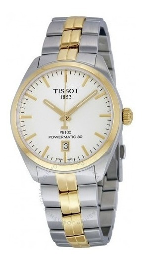 Relógio Tissot Powermatic 80 Pr 100 Ouro/aço Automático