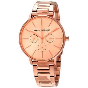 ea93a4545de7 Reloj Armani Exchange Rosado en Mercado Libre México