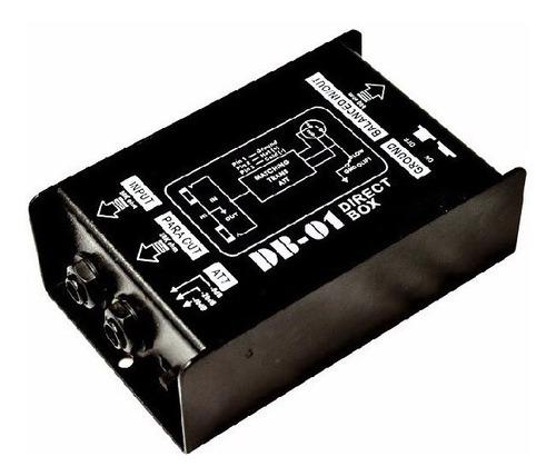 Caja Directa Pasiva Moon Db01 Adapta Impedancias Mono