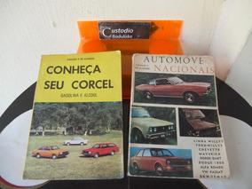 2 Antigos Livros Automóveis Nacionais E Conheça Seu Corcel