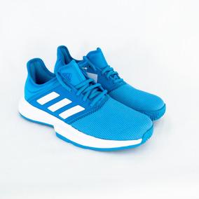 Tênis Masculino adidas Cg6335 Gamecourt M Azul Original