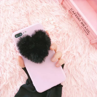 Funda Silicon Pelushe Real iPhone 6/6s Plus 7/7plus 8/8plusx
