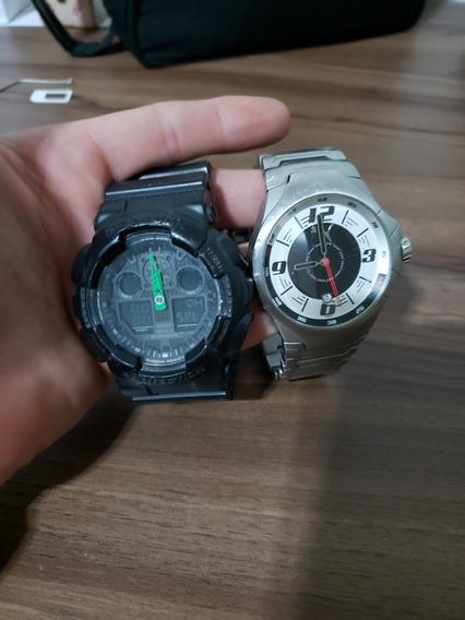 Relógios G-shock Ga100c E Puma