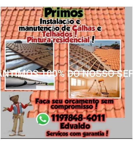 Primos Reformas E Manutenções De Telhados Pintor Residencial