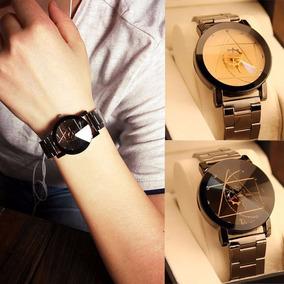Relógio Soxy Marca De Luxo Masculino Novo Design Puls./metal