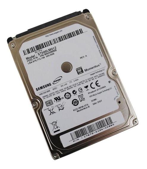 Hd 500gb Interno Samsung P/ Notebook Usado