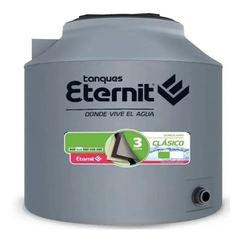 Tanque Agua Eternit Clasico Tricapa 2500 Lts Sin Interes