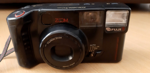 Câmera Fotográfica Analógica Fuji Film Zoom Cardia 700 Date
