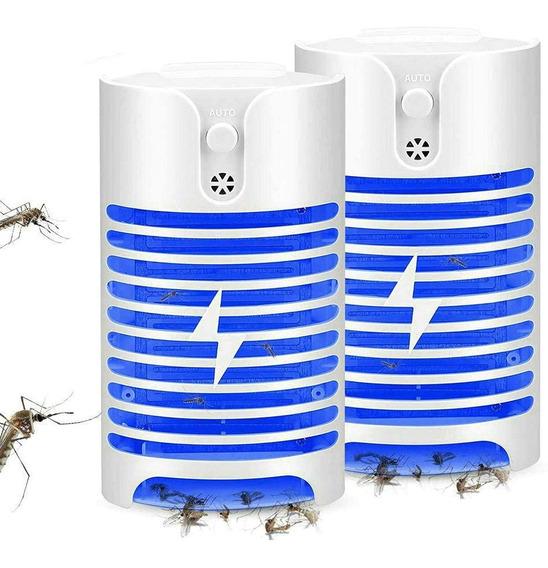 2 Repelente Mata Insecto Mosquito Eléctrico Lámpara Glückluz