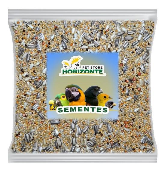 Mistura De Sementes C/ Pirila - 10kg - Calopsita / Ringneck